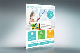 cleaning company flyer sb flyer templates creative market