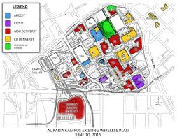 Denver Metro Map by Auraria Campus Wireless Map