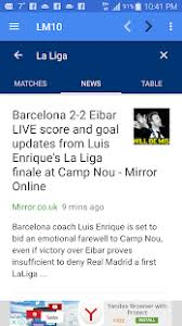 la liga live scores and table lm10 lionel messi apps on google play