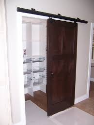 unique sliding closet doors with dark coffee modern american style