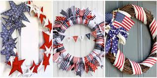 13 diy 4th of july wreaths how to make a patriotic wreath