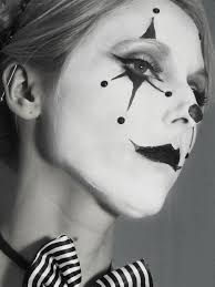 Halloween Black And White Makeup by Lovely Clown U201d Makeup Tutorial U2013 The Spooky Octopus
