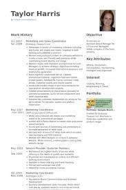 Sales And Marketing Resume Examples by Sales Coordinator Resume Samples Visualcv Resume Samples Database