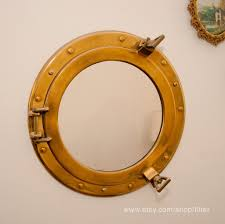 Brass Home Decor by Home Decoration Perfect Porthole Mirror Ideas For Bathroom