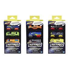 nerf car buy nerf nitro foam car 3 packs online at toy universe
