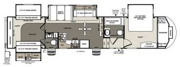 bunkhouse fifth wheel floor plans used 2014 forest river rv sandpiper 365saqb fifth wheel at fun town