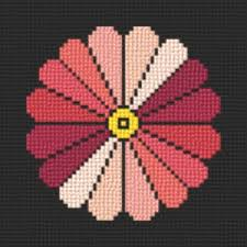 japanese style flower cross stitch pattern flowers