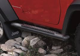 jeep wrangler side steps for sale mopar oem jeep wrangler 3 black powder coat tubular side steps