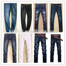 100 cotton fashion vintage blue color mens denim jeans cheap