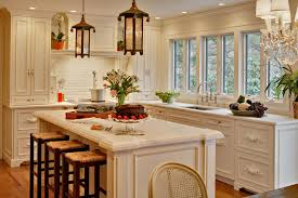 Simple Kitchen Planner Pendant Lights Chandelier Combined Black Marble Top Kitchen Island