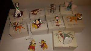 grolier disney ornaments ebay