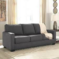 Leather Sofa Sleeper Queen by Assembly Required Sofa Wayfair
