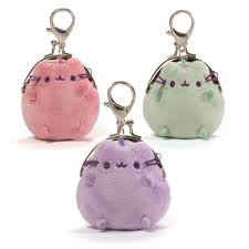 pusheen earrings gund pusheen pastel 3 coin purse in 4 colors jan s