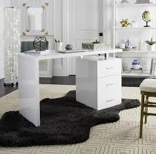 Glossy White Dresser Fox2235a Desks Furniture By Safavieh