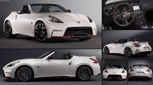 nissan 370z performance specs nissan 370z nismo roadster concept 2015 pictures information