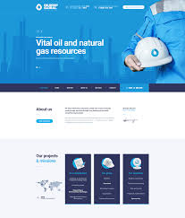 Industrial Theme by Oildrop U2013 Oil And Gas Industrial Wordpress Theme Modern Web
