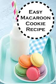 easy macaroon cookie recipe macaroon cookies french classic