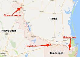 Crime Mapping Las Vegas by Cartel Gang Violence In Reynosa Nuevo Laredo Matamoros Mexico