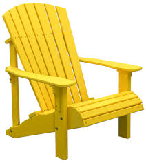 Yellow Chair Deck Chairs Amish Merchant