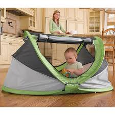 peapod plus baby travel bed with inflatable air mattress amazon