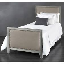 avery iron u0026 upholstered trundle bed by wesley allen humble abode