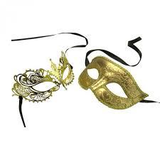 where can i buy masquerade masks buy gold his and masquerade masks set online at yacanna