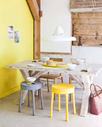 muuto raw side table kitchen yellow chair and wall the ruby orchard