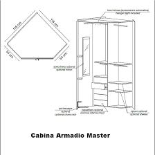 armadio angolare misure armadio cabina angolo master arredamenti casa italia