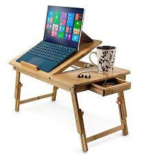 Lap And Bed Desk Bamboo Desks And Home Office Furniture Ebay