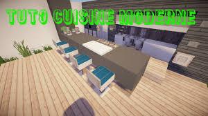 cuisine moderne minecraft tuto minecraft cuisine moderne