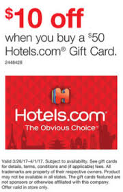 buy gift cards at a discount staples 10 50 hotels giftcard 5x 3 26 4 1 in store