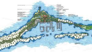 Bahama Islands Map Montage Royal Island Edsa