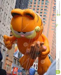 thanksgiving is by gail gibbons garfield balloon in macy u0027s thanksgiving day parade editorial image