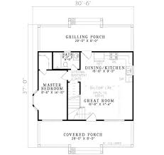 cottage style house plan 2 beds 1 00 baths 975 sq ft plan 17 2139