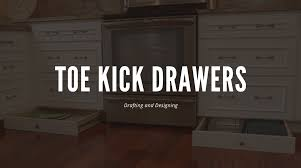why do cabinets a toe kick designing toe kick drawers superior shop drawings
