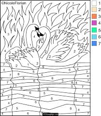 Thanksgiving Color By Number Cool Design Color By Number Printable Pages Flowers Coloring Pages