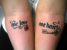 his and hers puzzle tattoos images of 25 awesome lock and key