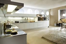 Modern L Shaped Kitchen With Island Black Marble Countertops White Units Kitchen Kitchen Ocinz Com