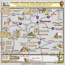 parks map colorado national parks monuments grasslands map colorado