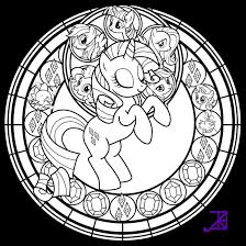 stained glass rainbow dash line art by akili amethyst on