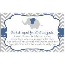 chevron elephant navy baby shower invitation boy baby showers