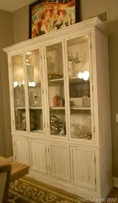 diy rustic china cabinet chez sabine