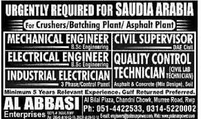 electrical engineering jobs in dubai for freshers electrical engineer job asphalt plant saudi arabia job crushers