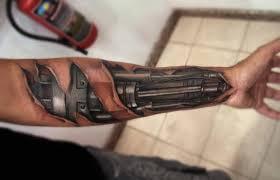 tattoo 3d mechanical top 80 best biomechanical tattoos for men improb