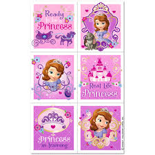 sofia stickers 4 sheets
