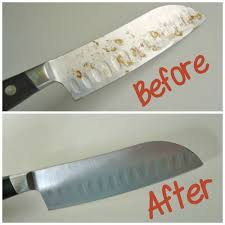 disposal of kitchen knives how to remove rust spots on knives