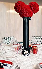 mickey mouse centerpieces 25 ideas for a mickey and minnie inspired disney themed wedding