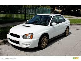 white subaru wrx 2004 aspen white subaru impreza wrx sedan 65680980 gtcarlot com