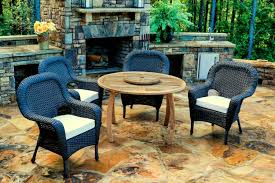 Canvas Outdoor Chairs Jakarta Teak 5 Pc Dining Set Teak Outdoor Furniture