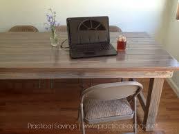 easy diy farmhouse table diy farmhouse table reveal